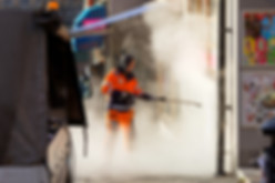 THE GRAFFITI REMOVAL SERVICE OF PROFESSIONAL POWER WASHING AND MAINTENANCE