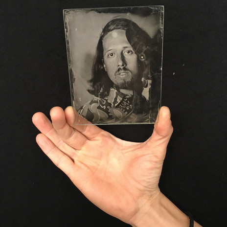 Ambrotype wet plate on glass workshop
