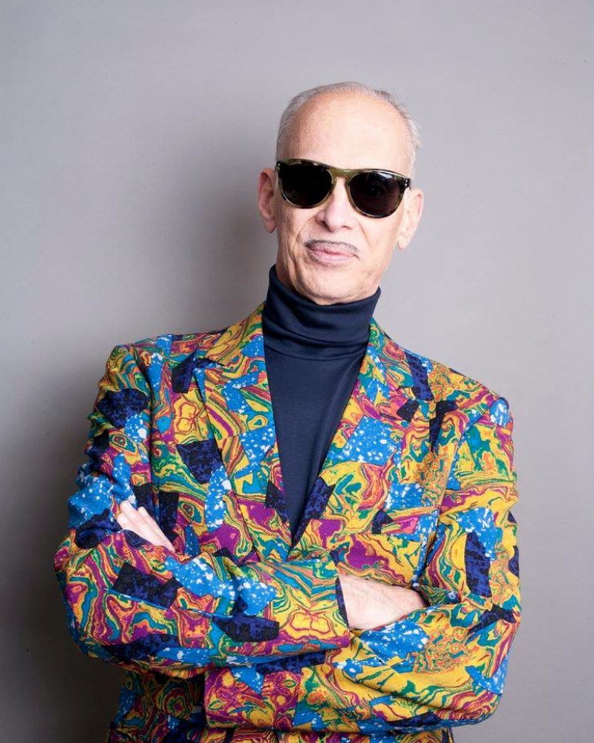 John Waters digital Portrait by Sage Paisner