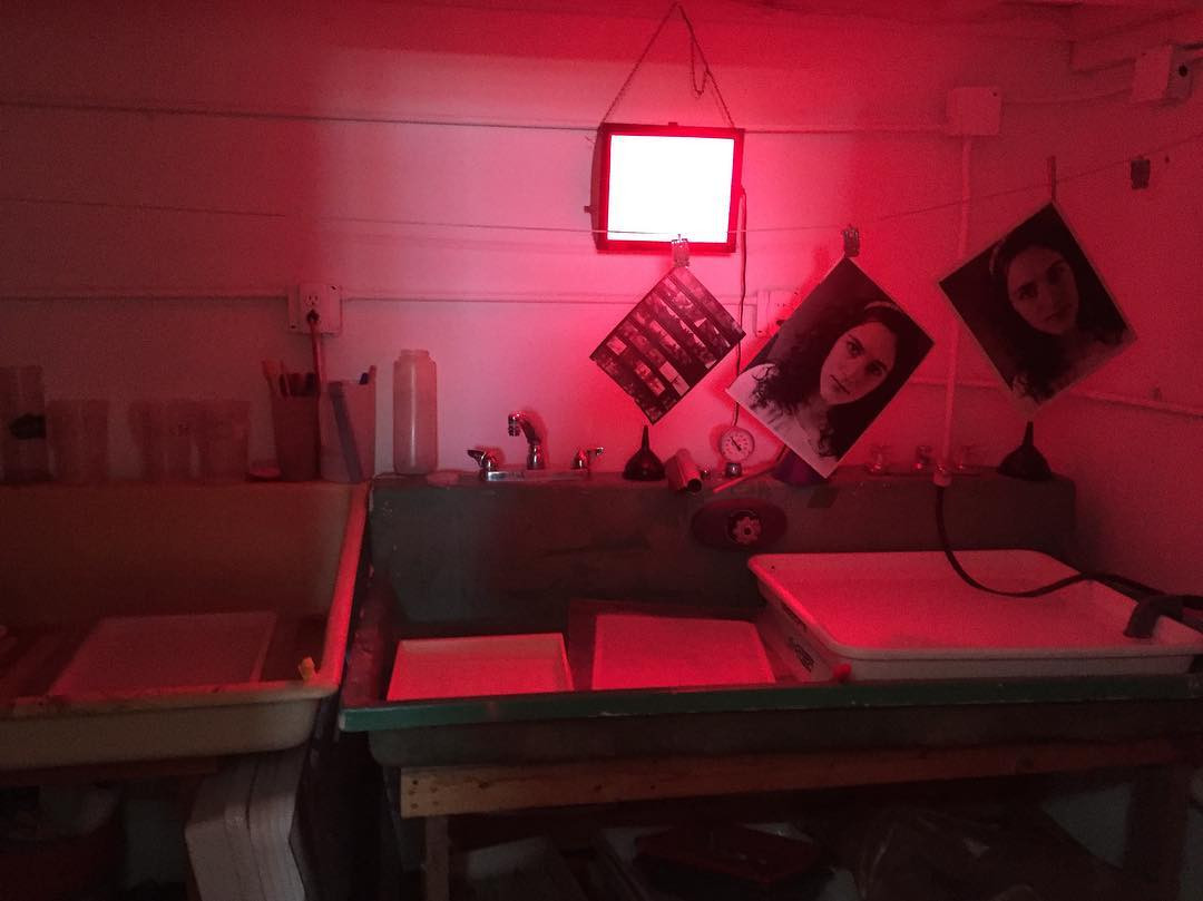 Darkroom work prints