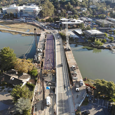 Bon Air Bridge Over Corte Madera Creek Replacement