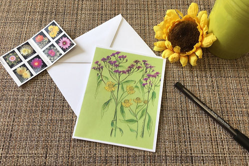 Note Card: Ironweed & Sneezeweed