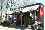 The original storefront in Hillsboro WV