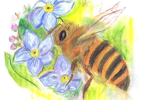 Wild & Wonderful Print: Honey Bee