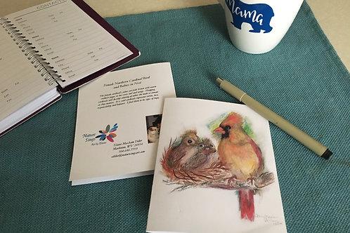 Note Card: Female Cardinal