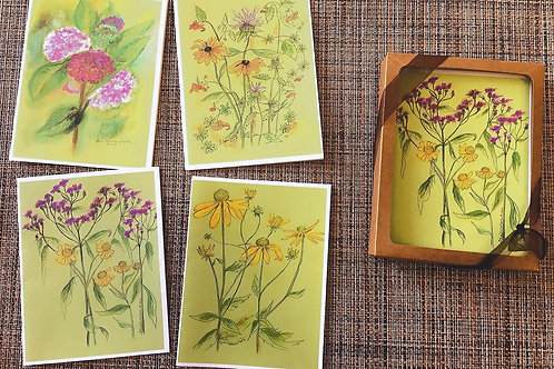 Boxed Set:Summer II notecards