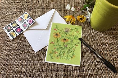 Note Card: Black-eyed Susans