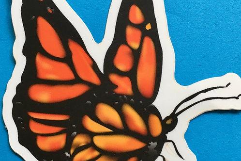 Sticker: Monarch Butterfly