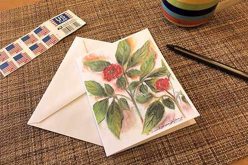 Note Card: American Ginseng