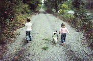 Walking the Greenbrier River Trail in the ealy 90's.