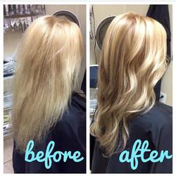 Blonde Highlights & Color