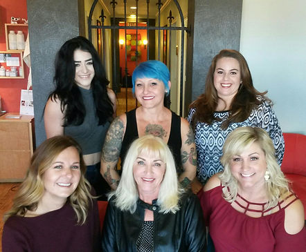 hairstylists, trendy hair, Aggieland, Aveda