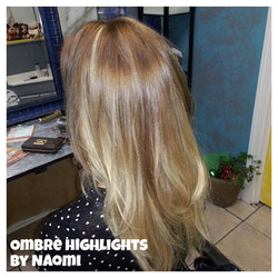 Subtle Blonde Ombre by Naomi