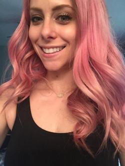 Flamingo Pink Hair