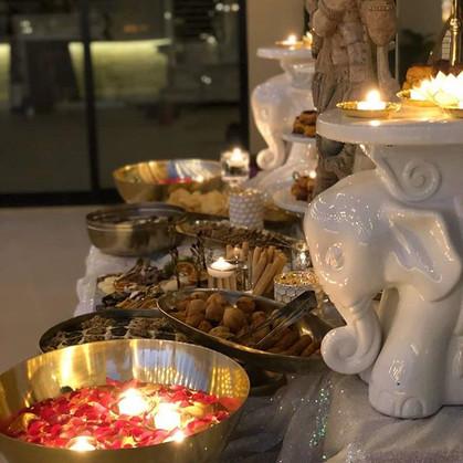 Diwali Appetizer table _#eventplanner#ev