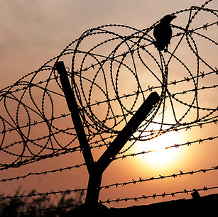 Finding Jesus Behind the Barbed Wire