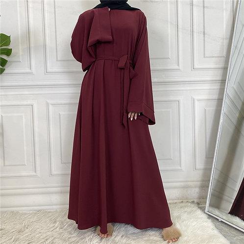 Maroon Jacent Dress