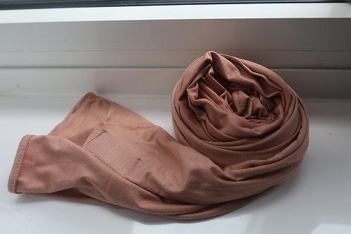 Premium Dusty Pink Jersey Hijab