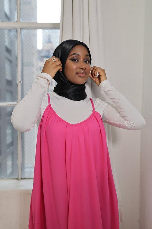Hot Pink Jacent Dress