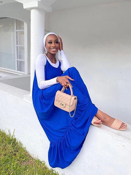 Blue Jacent Dress
