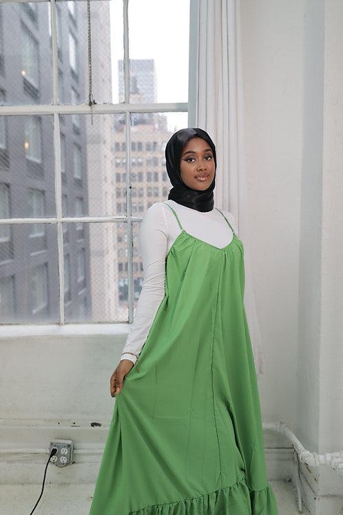 Green Jacent Dress