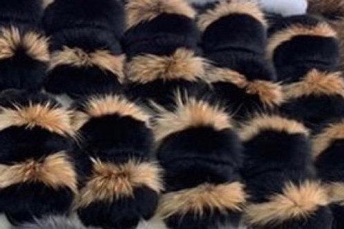 Fox Large Fur Slide