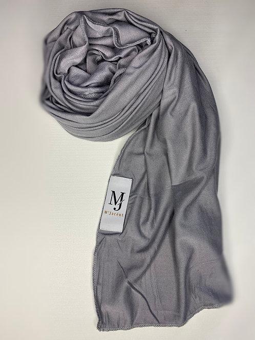 Premium Grey Jersey Hijab