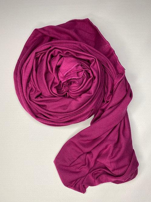 Premium Fuchsia Jersey Hijab
