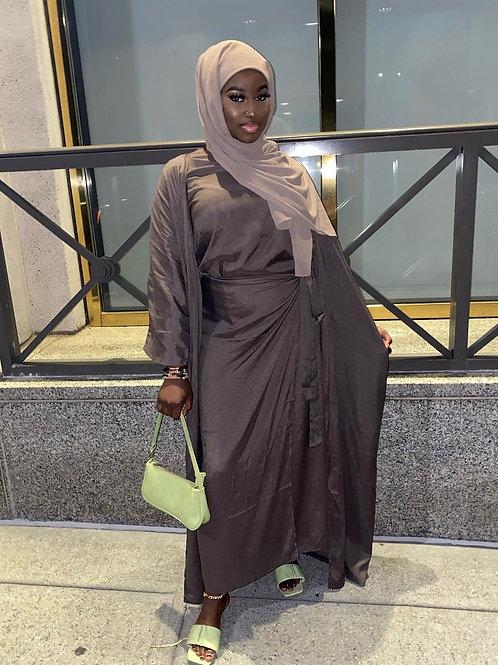Mocha  Instant Hijab