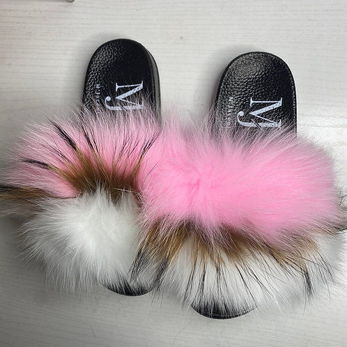 Pixy Large Fur Slide