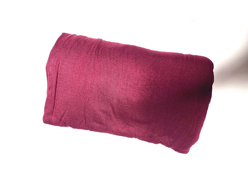 Wine red jersey scarf