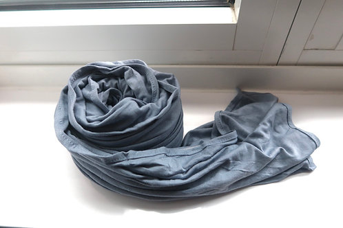 Premium Cool Blue Jersey Hijab