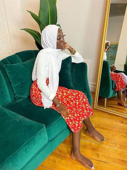 Dahila mini wrap skirt