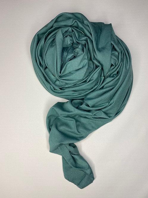 Premium Sea Green Jersey Hijab