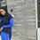 Thumbnail: Royal blue Turtleneck BodyXon Dress