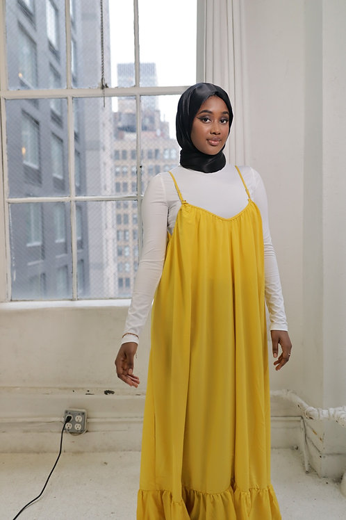 Yellow Jacent Dress