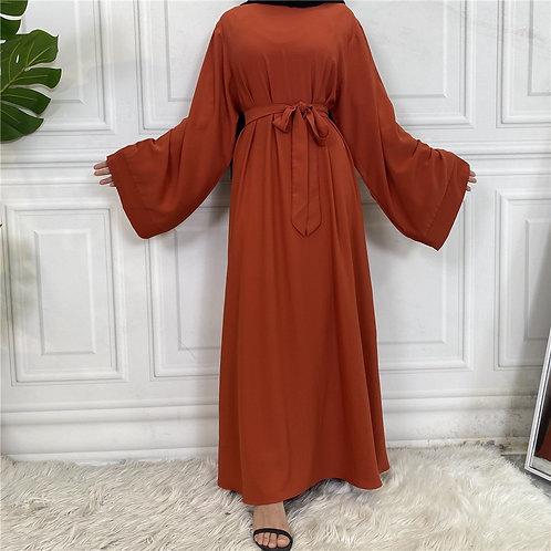 Burnt Orange Jacent Dress