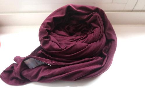 Premium Maroon Jersey Hijab
