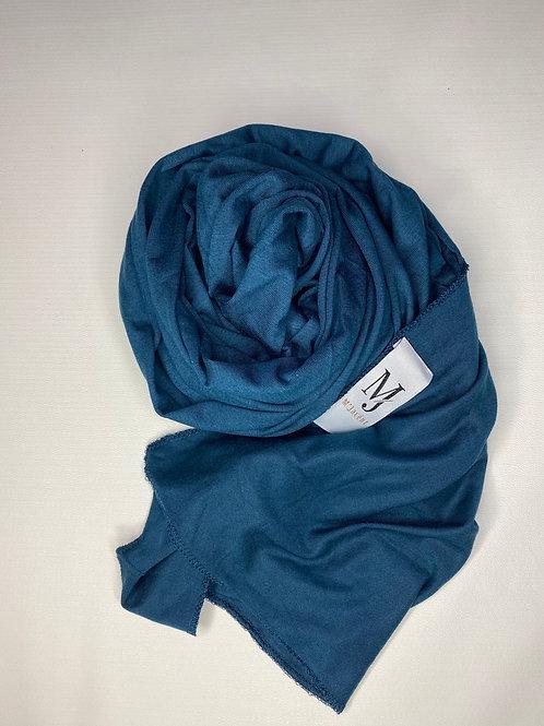 Premium Teal Jersey Hijab