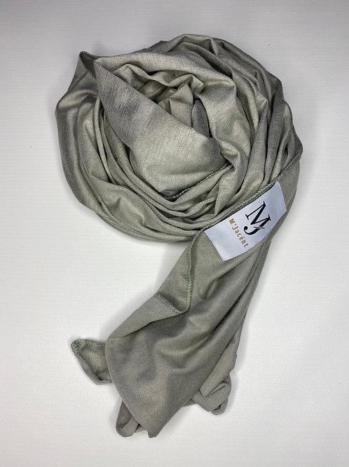 Premium Tea Green Jersey Hijab