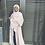 Thumbnail: Beige Abaya + Hijab Set