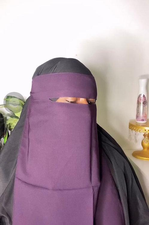 Grape niqab