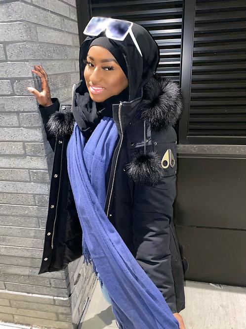 Navy Winter scarf