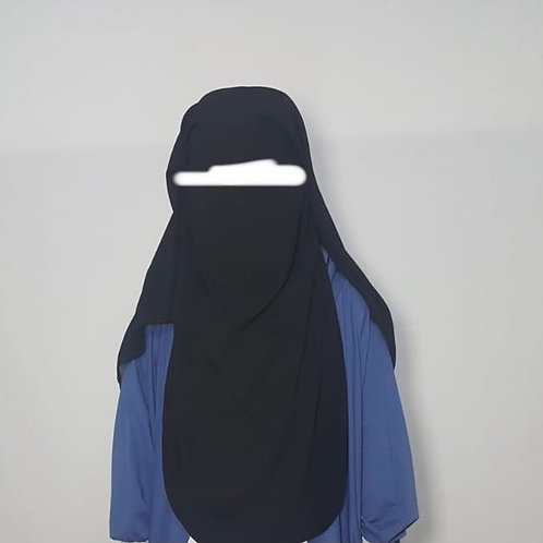 Double layer niqab