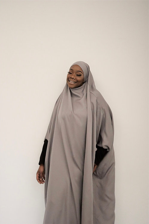 Silver 1pc Prayer Dress