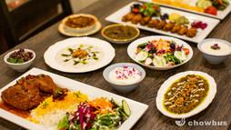 Persian Dinner table