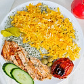 Salmon Fish Kabob