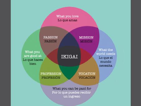 Ikigai, el lugar donde converge tu pasión, tu misión, tu profesión y tu vocación