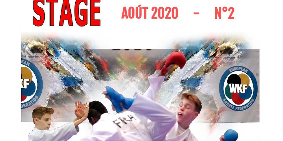 STAGE d'ÉTÉ  Août 2020 (n°2)