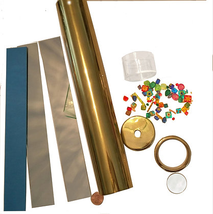 "Deluxe 12"" Brass Kaleidoscope Kit"